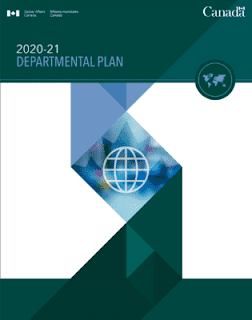Cover page for the 2020-2021 GAC Departmental Plan