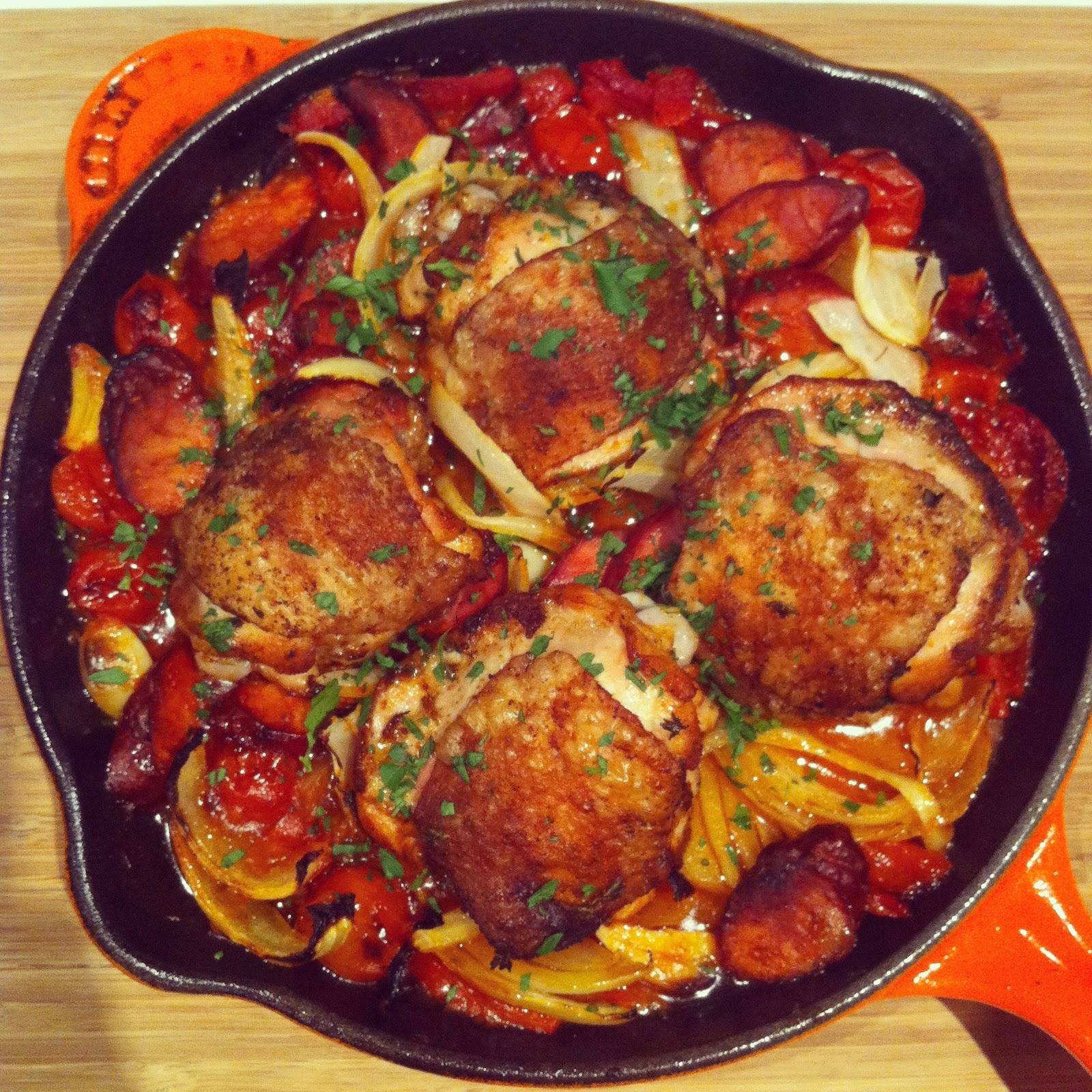 Everyday Gourmet: Skillet Spanish Chicken