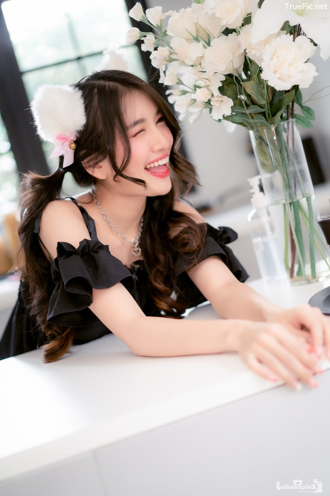 Image Thailand Model - Yatawee Limsiripothong - Busy Day of The Black Cat - TruePic.net - Picture-7