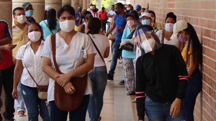 en la actualidad se evidencia un promedio diario de 125 casos positivos para el nuevo coronavirus