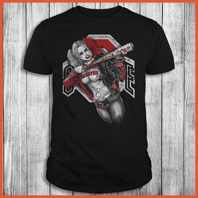Ohio state buckeyes harley quinn buy t shirts awesome for Ohio state t shirts