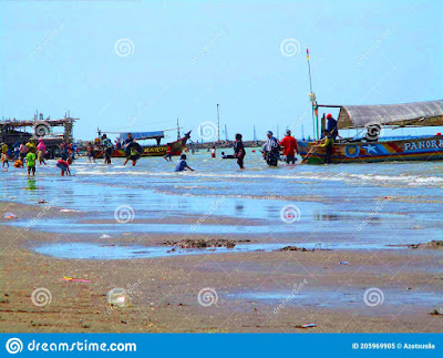 ujung-gebang-beach-sukra-indramayu-regency-which-nicknamed-as-mango-city-west-java-indonesia-december-ujunggebang-beach-near-205969905