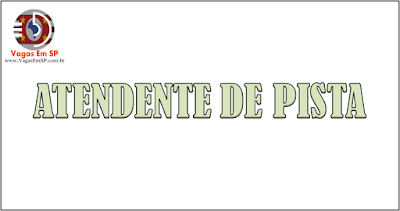 ATENDENTE DE PISTA