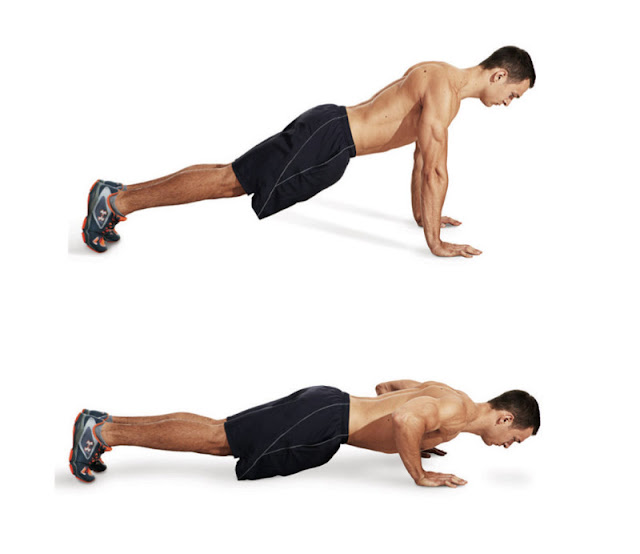 Best Chest Exercises of All Time - 30 Exercise - Push up