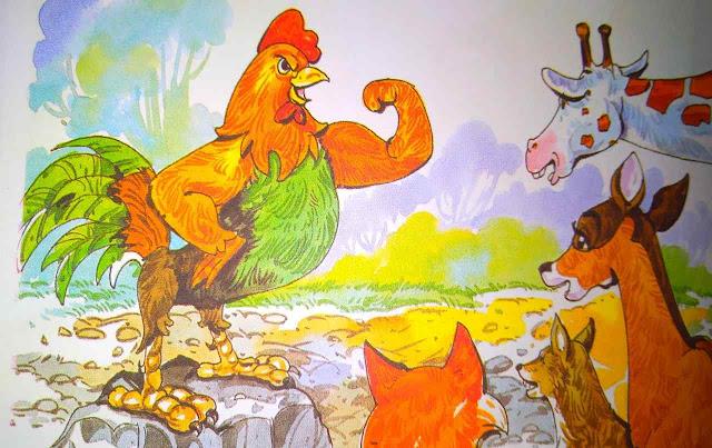 मुर्गे का घमंड ( Story For Moral In Hindi )