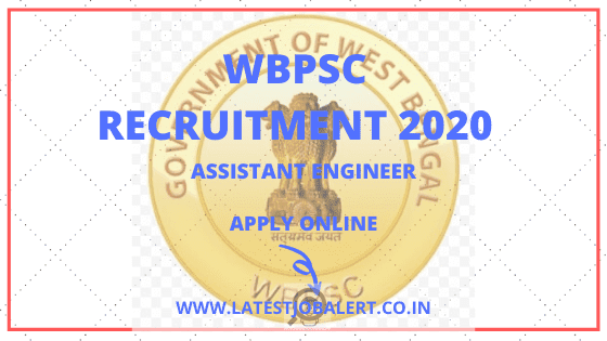 WBPSC Recruitment-2020-Assistant-Engineers-Online-Form-Apply-online