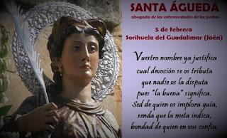 Resultado de imagen para Santa Agueda-5 de Febrero