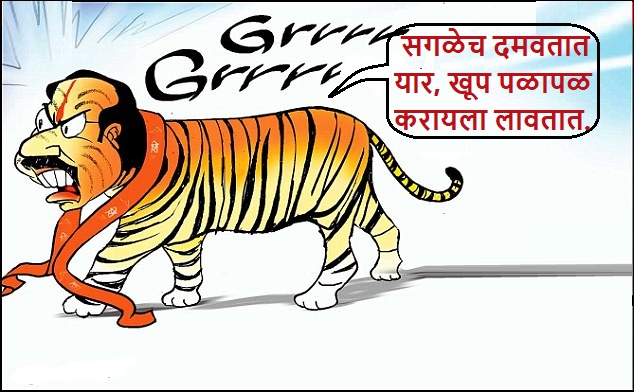 cartoon by vijay shendge