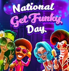 National Get Funky Day Wishes Beautiful Image