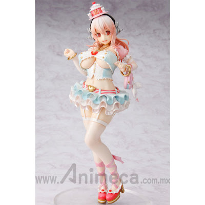 Figura Super Sonico 10th Anniversary Figure Birthday Party Ver. Edición Limitada