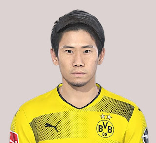 PES 2019 Faces Shinji Kagawa by Jarray & The White Demon