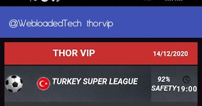 Download  Thorvip Betting Tips Apk (Viking Betting Tips)