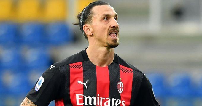 AC Milan forward Zlatan set to miss Liverpool clash with Achilles injury