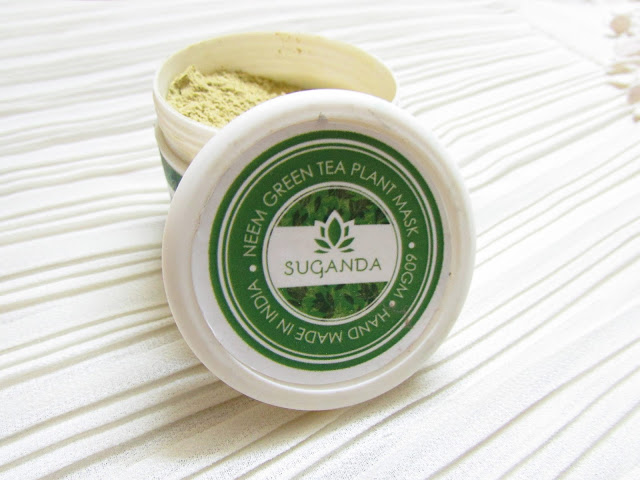 Suganda Neem Green Tea Plant Mask Price Review, acne skin skincare, best face pack for oily sensitive skin, skincare, paraben free face mask, all natural skincare, neem facemask, green tea face mask,beauty , fashion,beauty and fashion,beauty blog, fashion blog , indian beauty blog,indian fashion blog, beauty and fashion blog, indian beauty and fashion blog, indian bloggers, indian beauty bloggers, indian fashion bloggers,indian bloggers online, top 10 indian bloggers, top indian bloggers,top 10 fashion bloggers, indian bloggers on blogspot,home remedies, how to