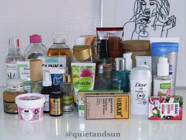 Przegląd moich kosmetyków do pielęgnacji - pokazuję wszystko co mam
