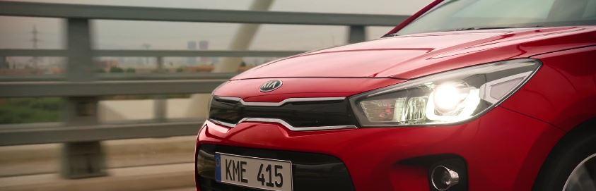 Modella Nuova Kia pubblicità Rio con Foto - Testimonial Spot Pubblicitario Nuova Kia 2017