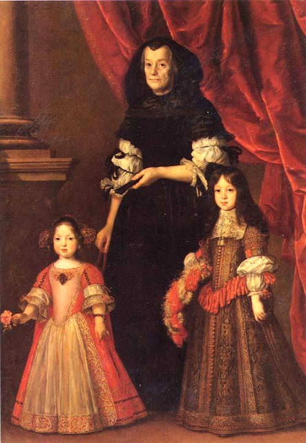Portrait of the young Medici Princes with their nurse by Justus Suttermans (1597-1681). Photo: Courtesy of the Stibbert Museum. Unauthorized use is prohibited.