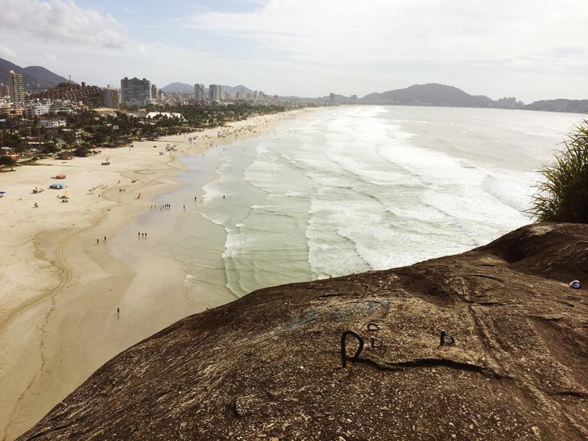 Vista da Praia da Enseada