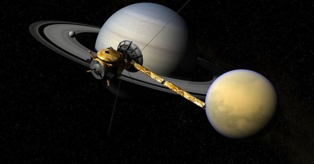 Satelit dari Bumi pernah mengunjungi Titan