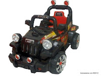Mobil Mainan Aki Junior TR1106A-12V Sport Jeep