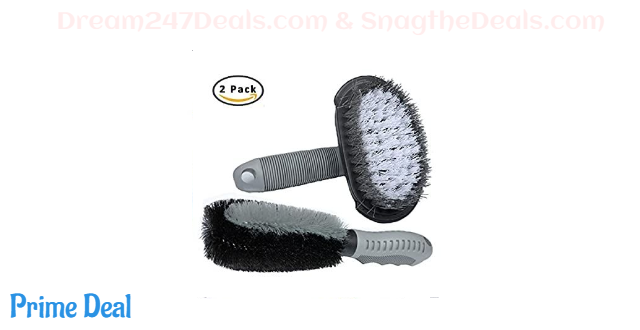 50% OFF  Car Wheel Cleaning Brush 2Pack