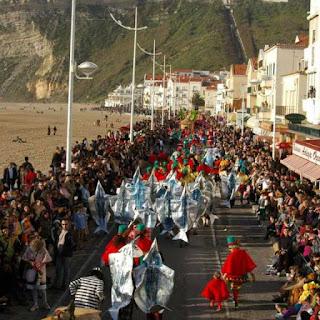 Programa do carnaval da Nazaré