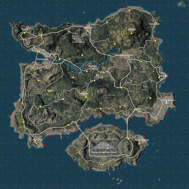 pubg mobile new map livik 2020 || upcoming map 2020