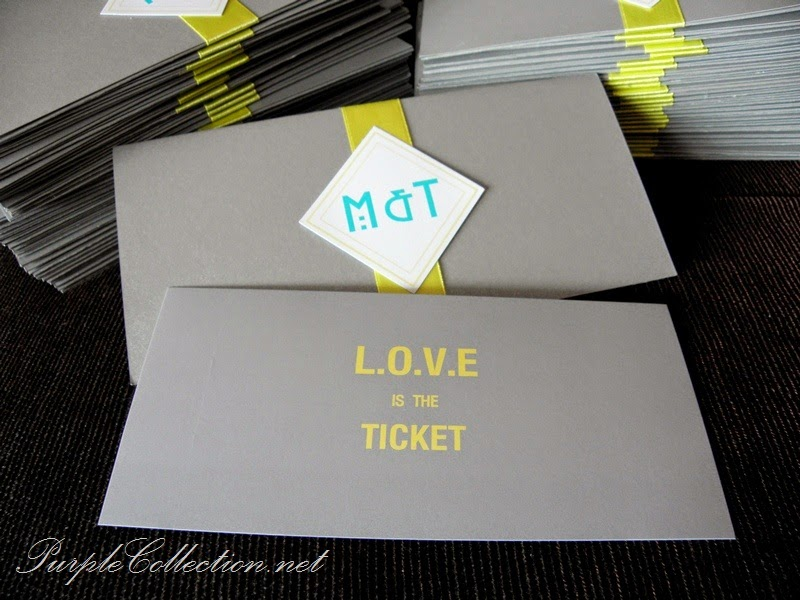 concert ticket, wedding card, invitation, love is the ticket, journey of love, love is in the air, printing, cetak, malaysia, kad kahwin, murah, personalized, personalised, custom made, design, unique, modern, special, kuala lumpur, selangor, Malaysia, singapore, johor bahru, JB, Penang, perak, kuantan, pahang, online, shipping, art card 260g, envelope, yellow, grey, silver, united states of america, USA, australia, new zealand, affordable, budget, denver