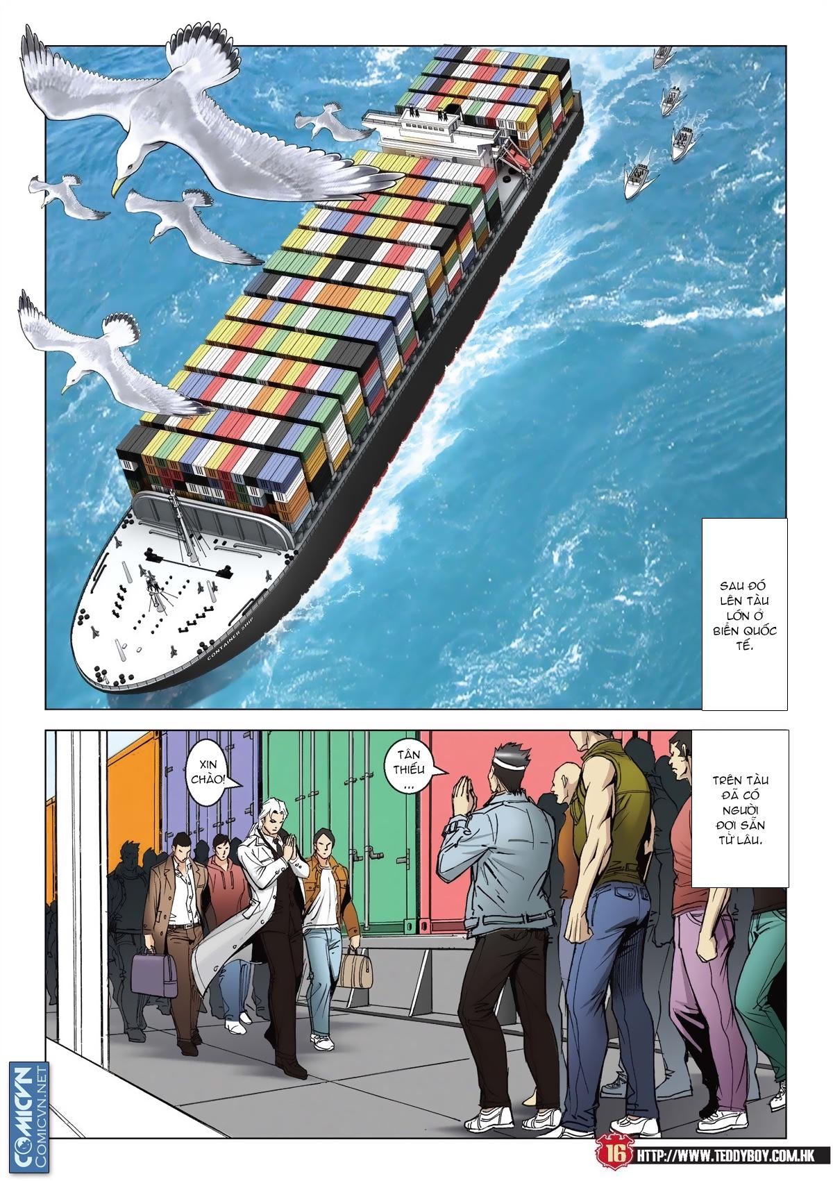 Người Trong Giang Hồ chapter 2011: hàn tân bỏ trốn trang 14