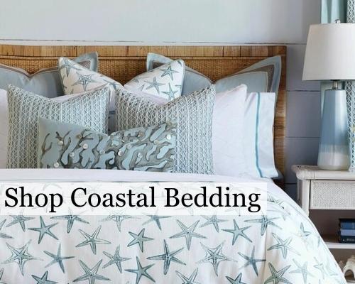 Coastal Nautical Bedding, Nautical Bed In A Bag Queen