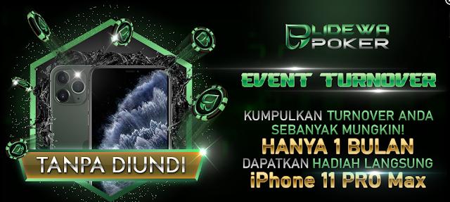 Situs Judi Poker Ini Berhadiah Iphone 11 Pro Max Loh!