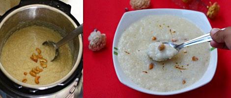 Instant pot rice kheer