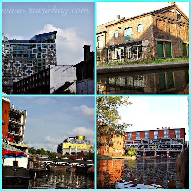 canal buildings in the city centre