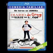 El diario de Greg: Un viaje de locos (2017) BRRip 720p Audio Dual Latino-Ingles