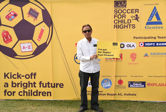 CRY champions the importance of child education through the beautiful game called football