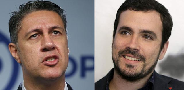 García Albiol y Alberto Garzón