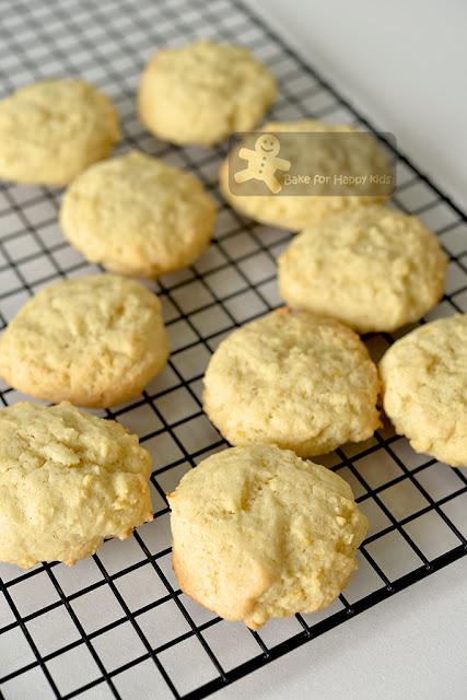 soft lemon butter cookies