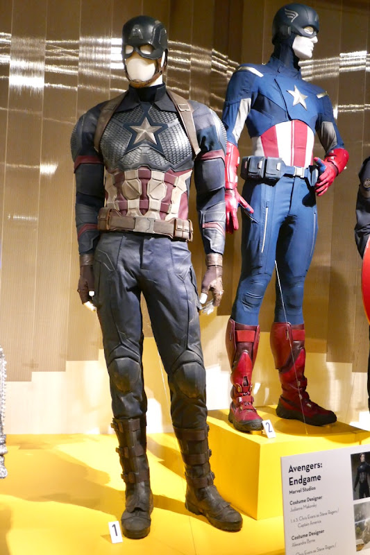 Chris Evans Avengers Endgame Captain America costume