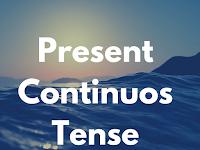 16 Bentuk Tenses (Present Continious Tense )