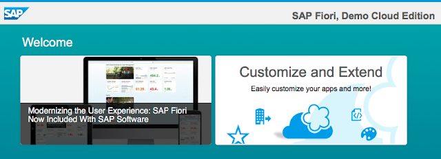 SAP Fiori, Demo Cloud Edition