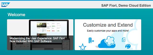 SAP Fiori, Demo Cloud Edition