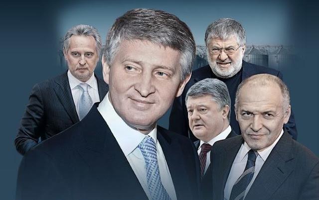 ЗАТ Україна: як п'ять осіб монополізували економіку країни