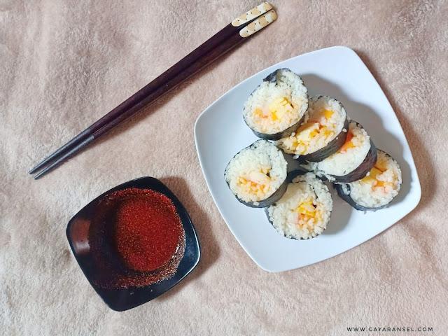 sushi rumahan