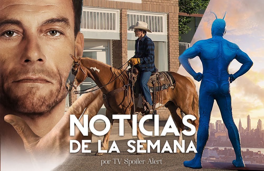 Noticias series semana amazon comedias i love dick jean claude van johnson the tick