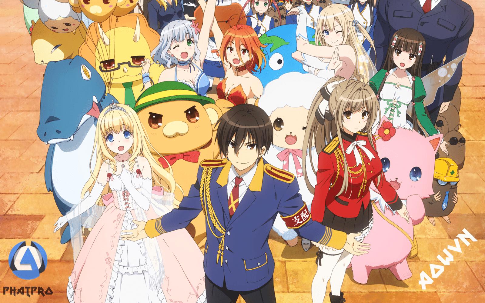 Amagi%2B %2BPhatpro%2B%25281%2529 min - [ Anime 3gp Mp4 ] Amagi Brilliant Park BD + Ova + SP | Vietsub - Cực Hài - Cực Moe