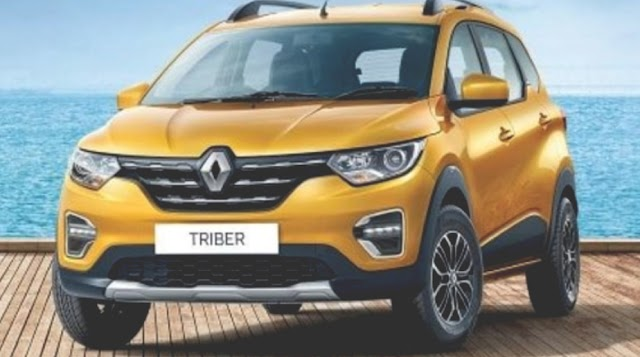Renault triber has launch with 1.0L engine option.