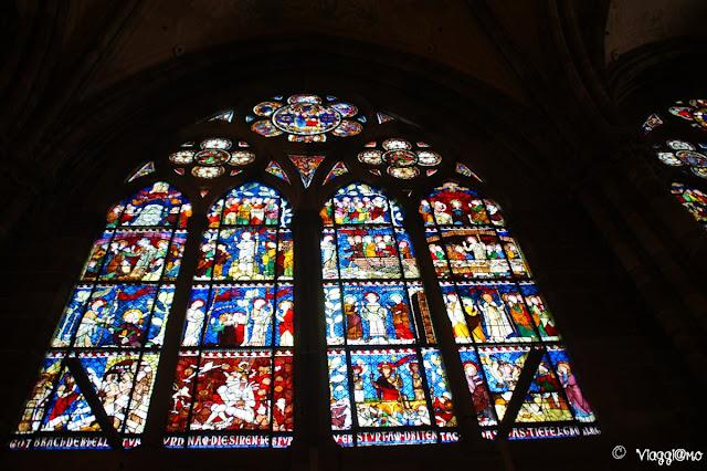 Le splendide vetrate della Cattedrale di Strasburgo