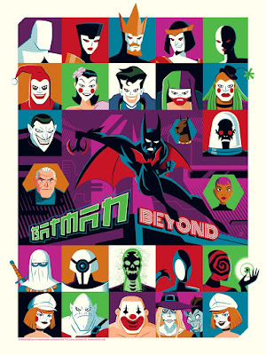 Batman Beyond Screen Print by Dave Perillo x Bottleneck Gallery