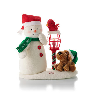 Merry Carolers Christmas Snowman Decorations