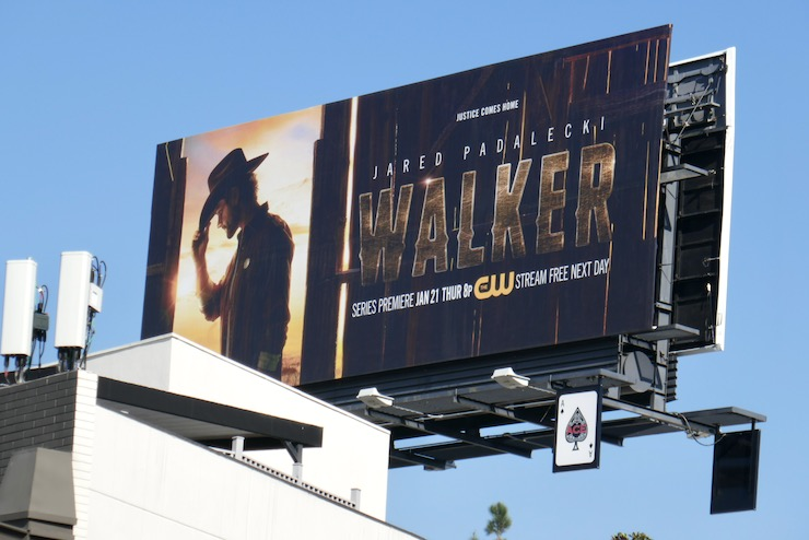 Walker series launch billboard